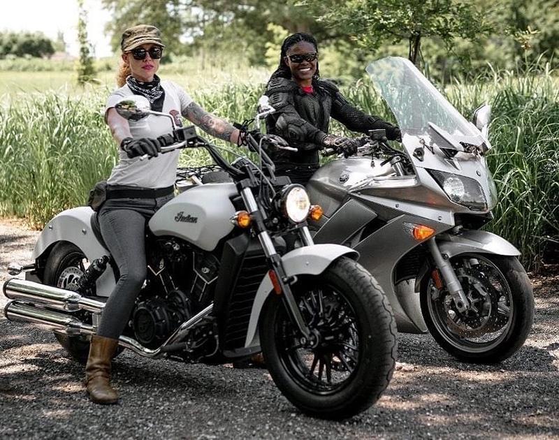 The Litas Greenville co-founder Kimba Reams Chesley Machado women riders