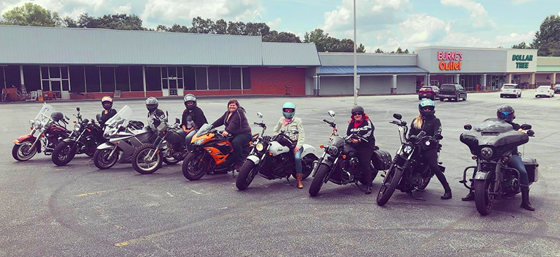 The Litas Greenville co-founder Kimba Reams female riders