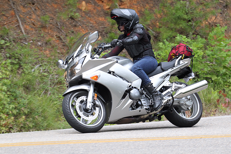 The Litas Greenville co-founder Kimba Reams women rider tail of the dragon