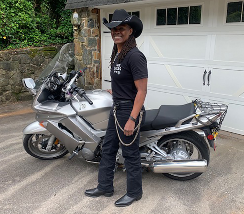 The Litas Greenville co-founder Kimba Reams Yamaha FJR1300 South Carolina