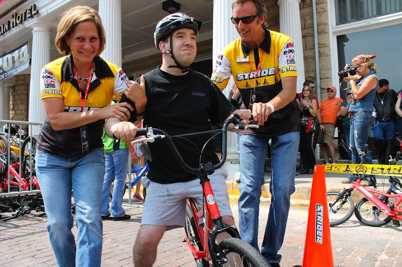 Two Wheels for Folks with Special Needs Strider Special Olympics