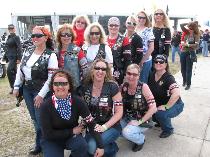 How to start a womens motorcycle club lady riders
