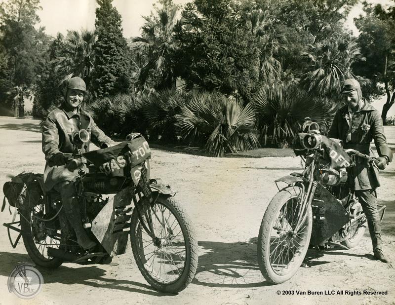 van buren sisters 1916 cross country motorcycle