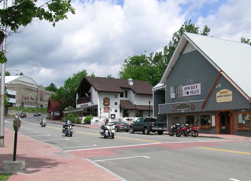 motorcycle touring adirondack park Lake Placid