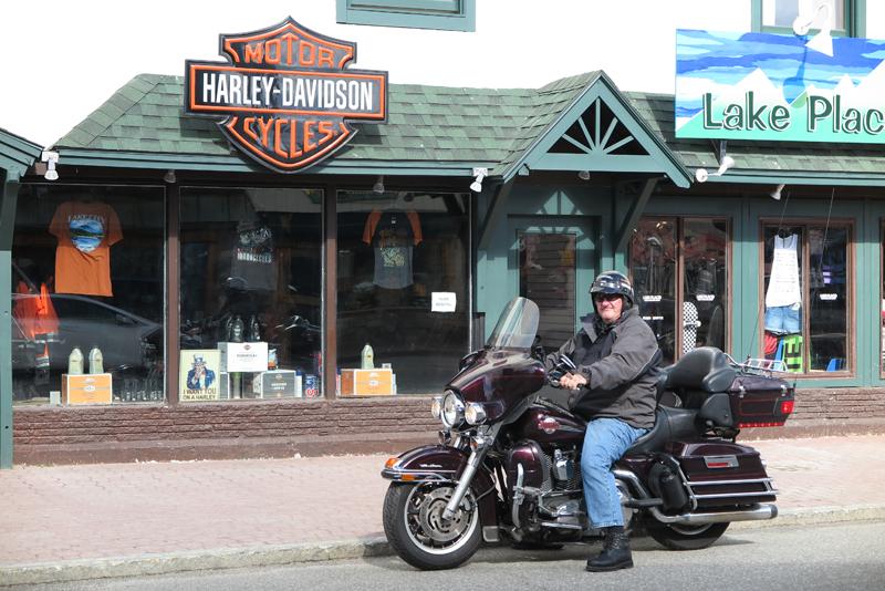 motorcycle touring adirondack park harley-davidson