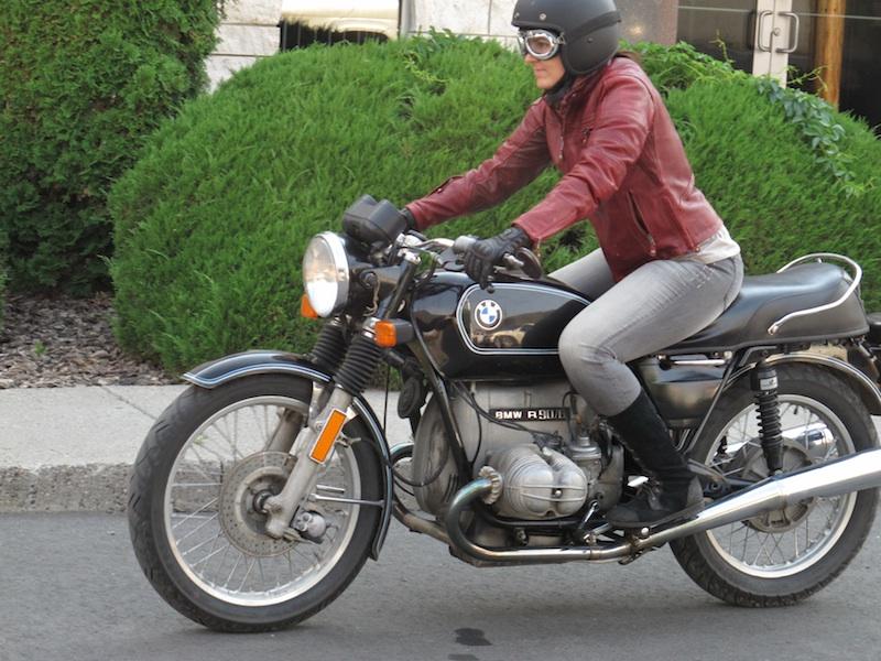 clothing review roland sands design maven leather jacket vintage bmw