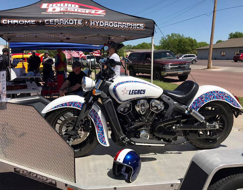 indian motorcycle scout raffle legacy