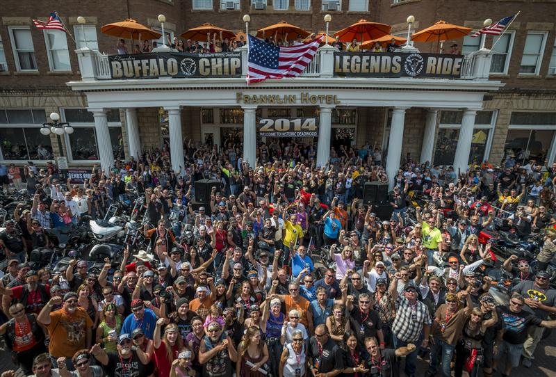 74th Annual Sturgis Motorcycle Rally Legends Ride