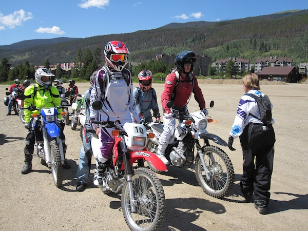 A Ride to Change Your Life dual sport training