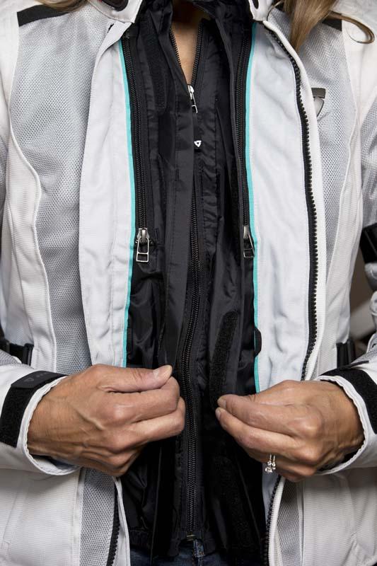 Review REVIT! Levante Jacket for Women Riders liner zipper