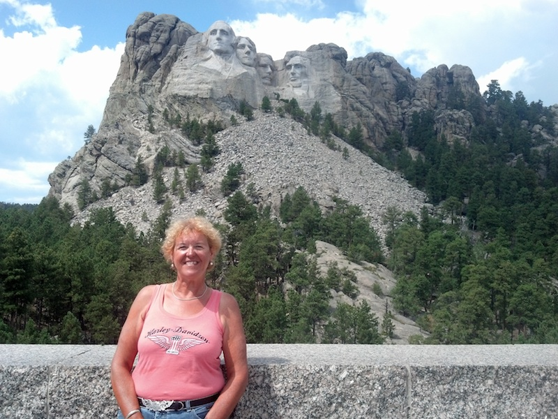 Reader Stories My Motorcycle Trip of a Lifetime mount rushmore