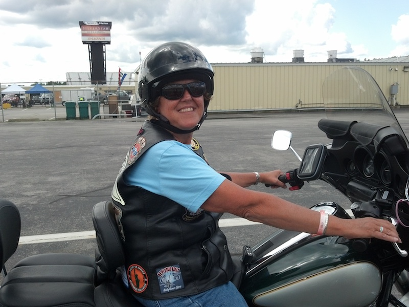 Reader Stories My Motorcycle Trip of a Lifetime woman on motorcycle