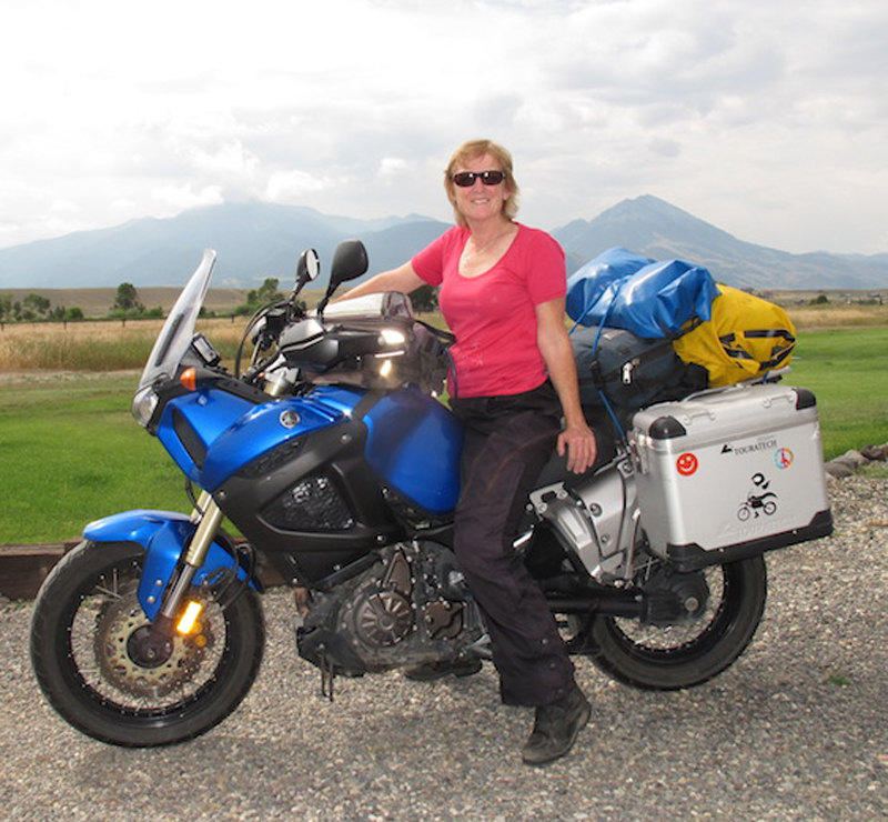 review solar charger for motorcycle camping Liz Jansen