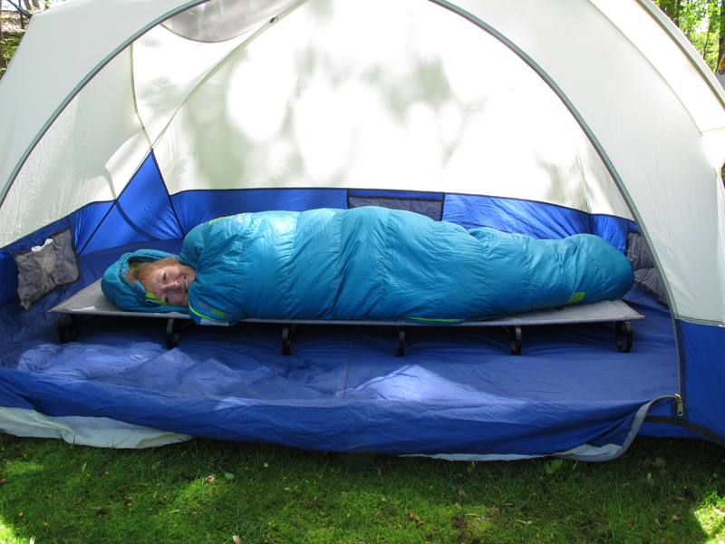 sierra designs sleeping bag review for motorcyclists in tent