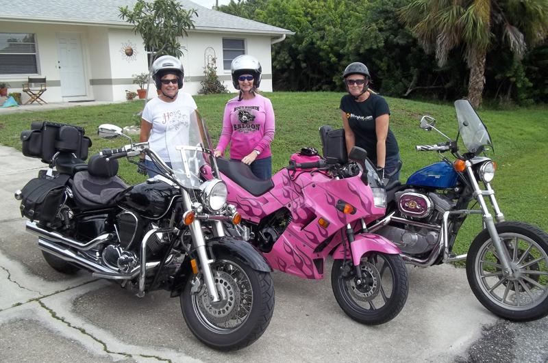 Pink Motorcycles donna lynn cadiz