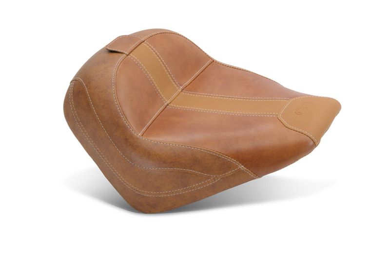aftermarket seat for indian scout brown