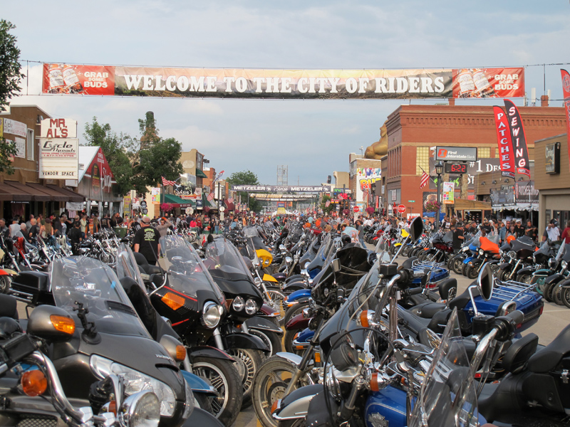 74th Annual Sturgis Motorcycle Rally Main Street