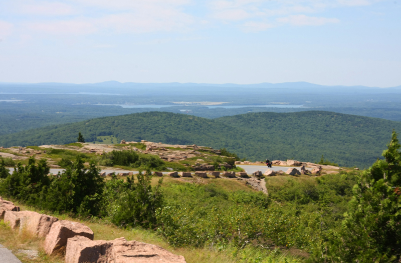 4 bucket list motorcycle rides in the east cadillac mountain maine