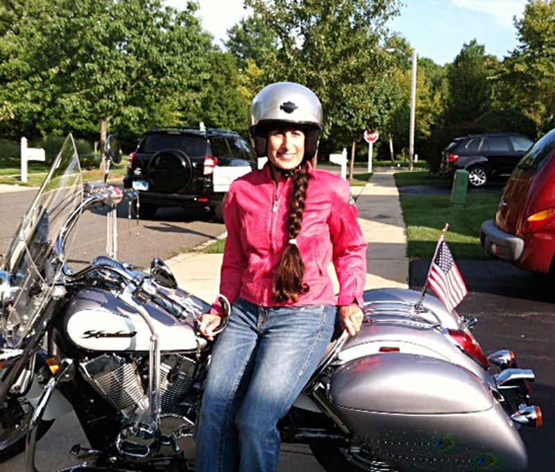 your motorcycles high-flying shadow aero Marylin Hansen