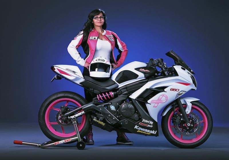 Pink Motorcycles Kawasaki Ninja 650