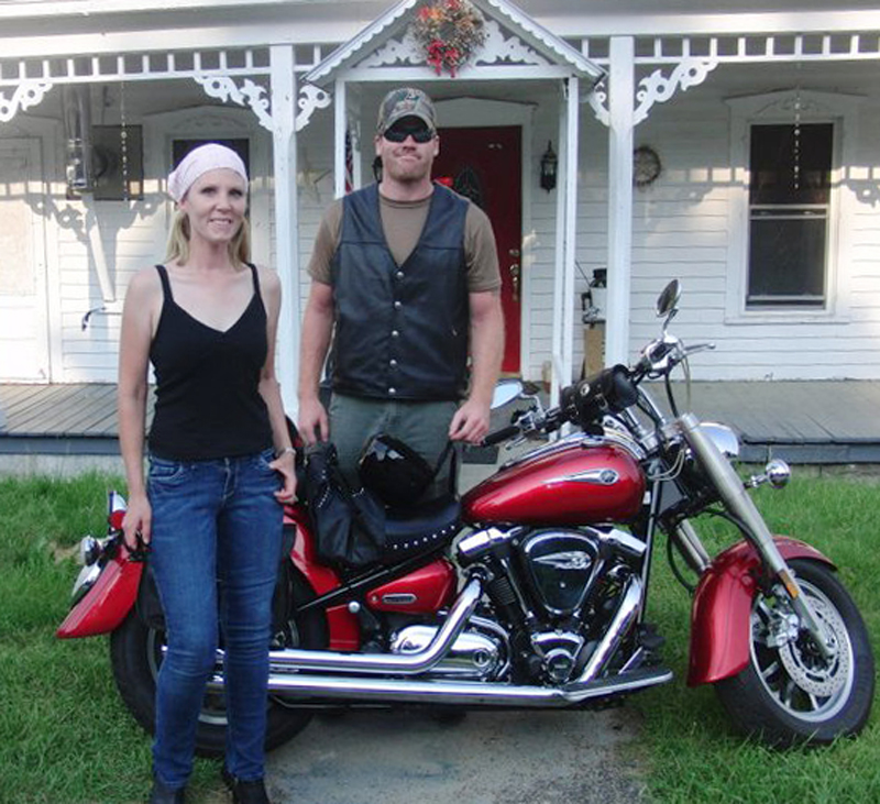 reader story leaning into lifes curves yamaha road star 1700
