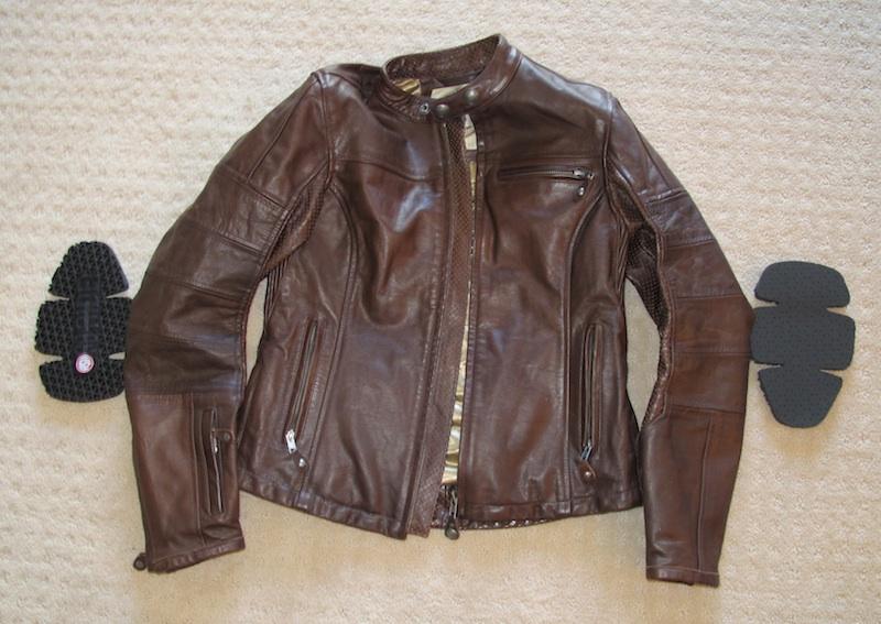 clothing review roland sands design maven leather jacket armor