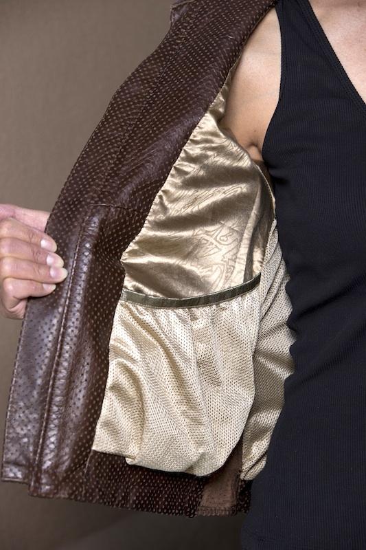 clothing review roland sands design maven leather jacket interior pocket