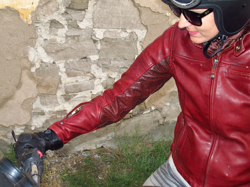 clothing review roland sands design maven leather jacket pocket