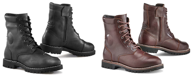 gear review tcx womens cafe race vintage motorcycle boots mens