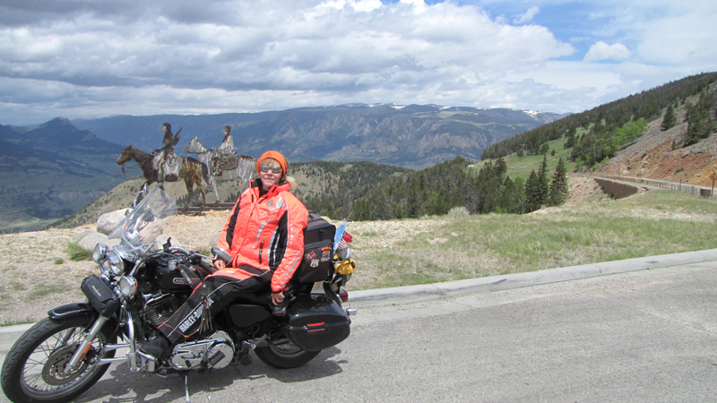 Solo Road Trip on a Motorcycle Alone But Never Lonely Chief Joseph Scenic Highway