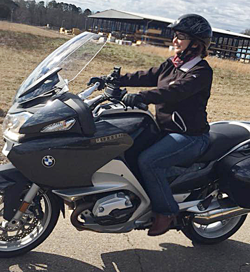 How Motorcycles and the Harley-Davidson Riding Academy Saved My Life_rider