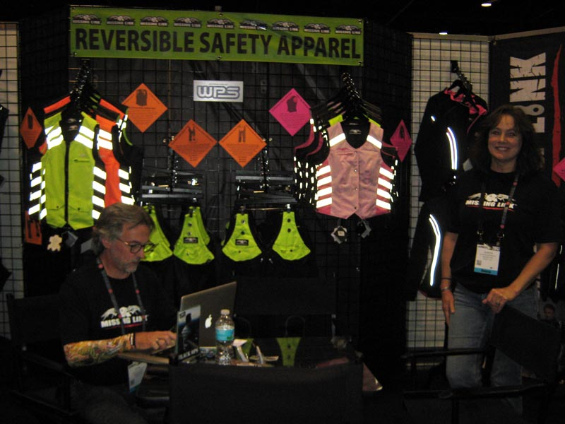 American International Motorcycle Expo (AIMExpo) 2013 Safety Vests