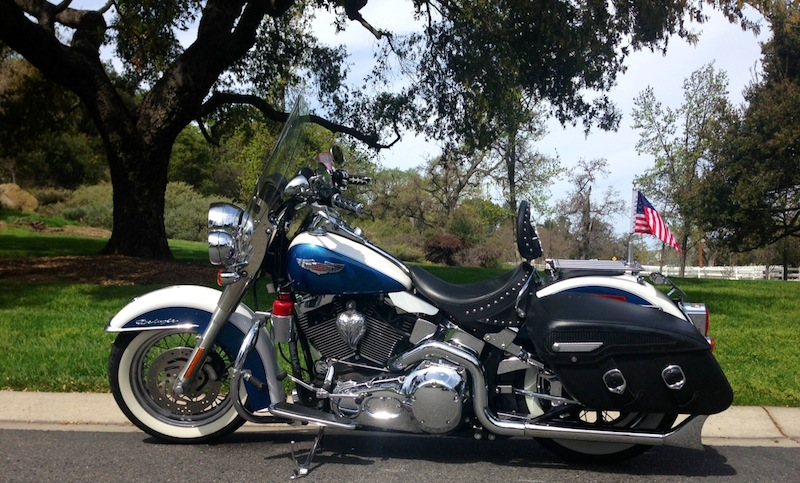 Custom Horn Covers and More for Harley-Davidsons Softail Deluxe