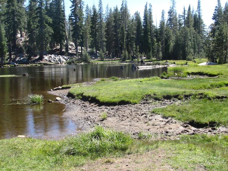 Riding Passes of Sierra Nevada Mountains Mosquito Lake
