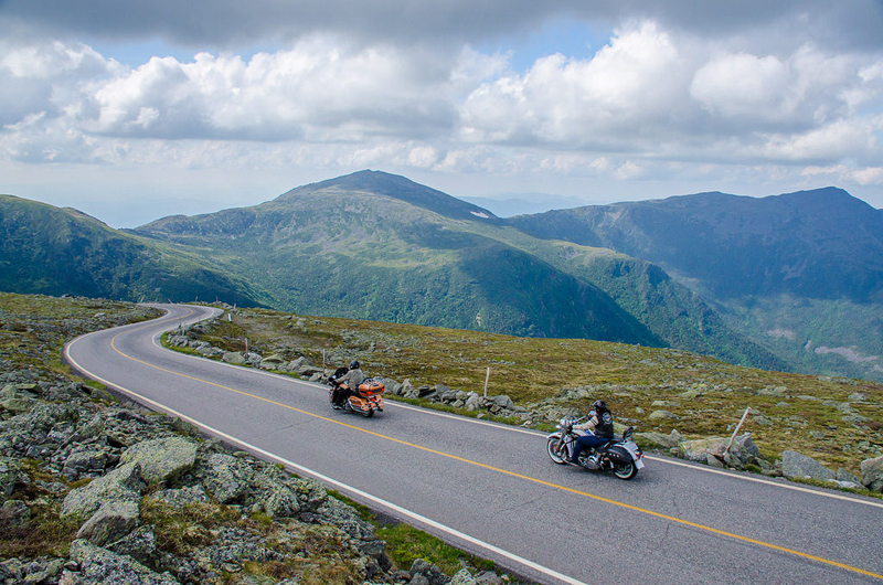 4 bucket list motorcycle rides in the east mount washington auto road