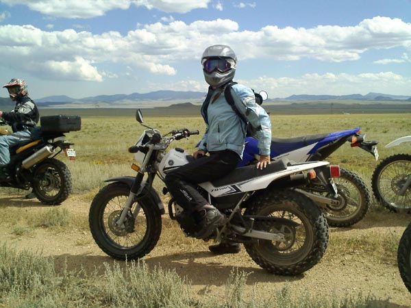 A Ride to Change Your Life Yamaha TW200