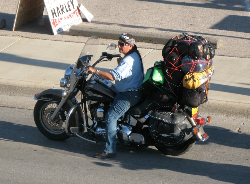 10 tips for planning your first overnight motorcycle ride packed bike