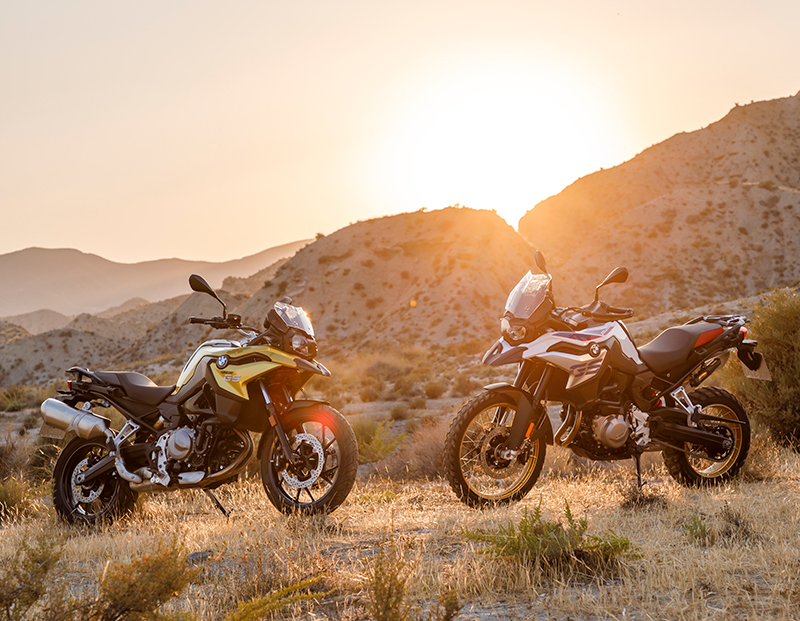 2018 new motorcycles BMW F 750 GS and F 850 GS