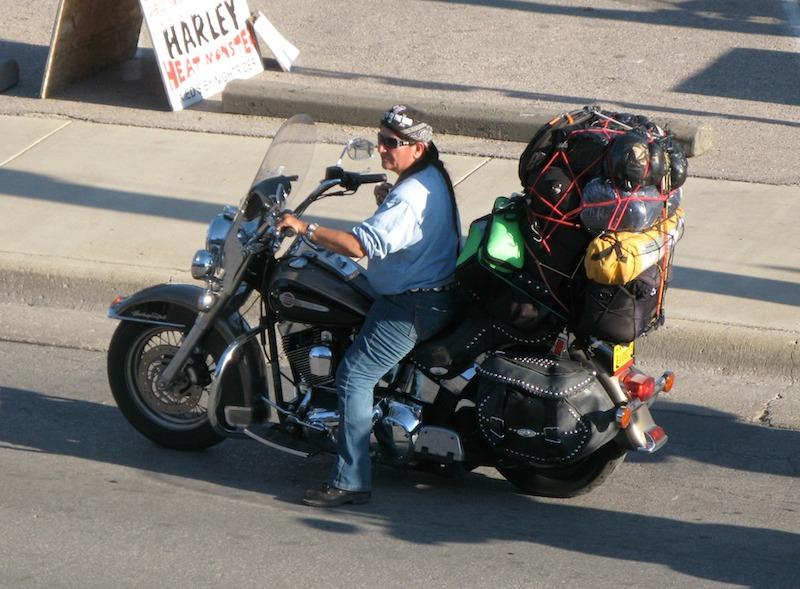 motorcycle trip packing tips harley