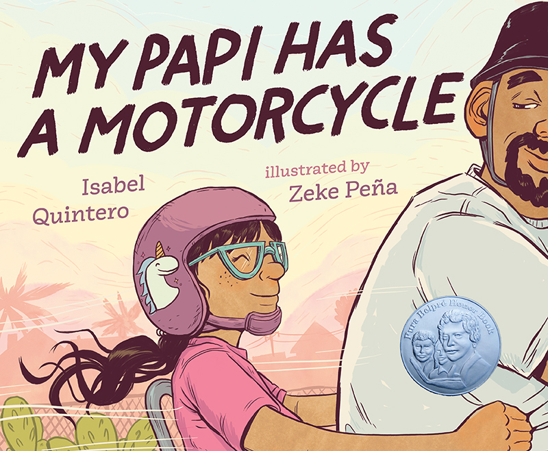 my papi has a motorcycle childrens book