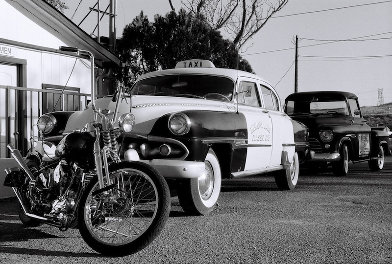 Review Shady Dell Bisbee Arizona motorcycle taxi pick-up