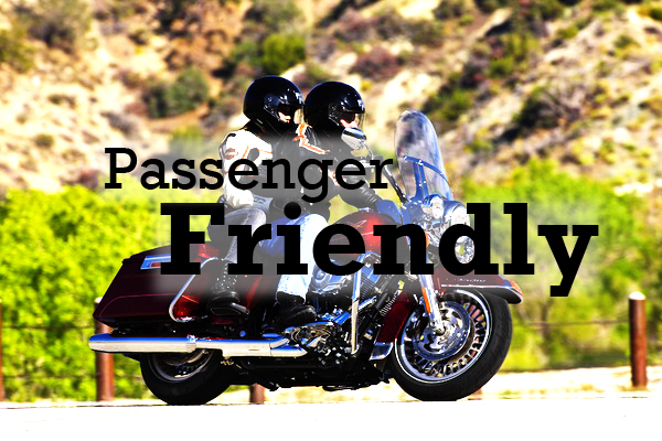 Passengers, this section is for you! Responsible passengers are critical to riding safely out on the road, so weve compiled a list of tips for being an effective two-up rider. This section also includes the latest products on the market for the rider in back.