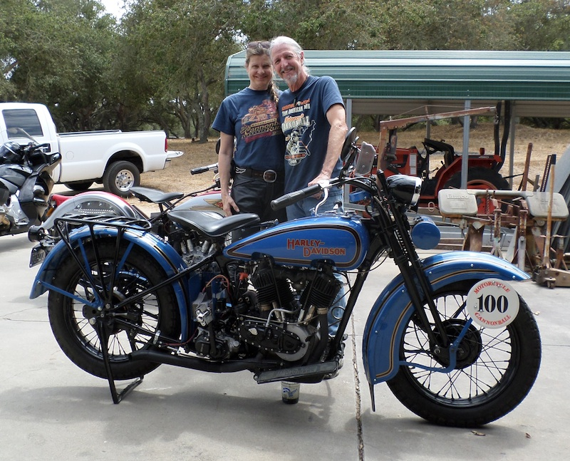Four Women Compete in Cross-Country Motorcycle Event Patrick Simmons