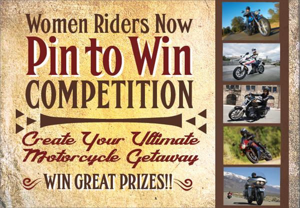 WRN Giveaway create ultimate motorcycle get away