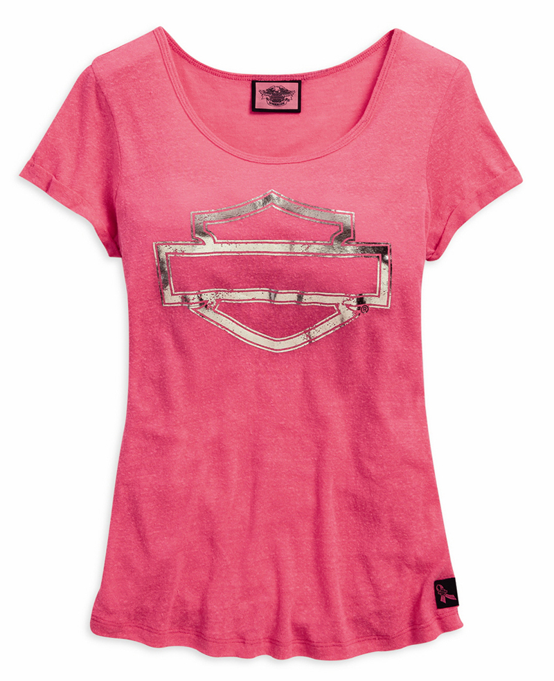 Harley-Davidson Adds New Items to Pink Label Collection T-Shirt