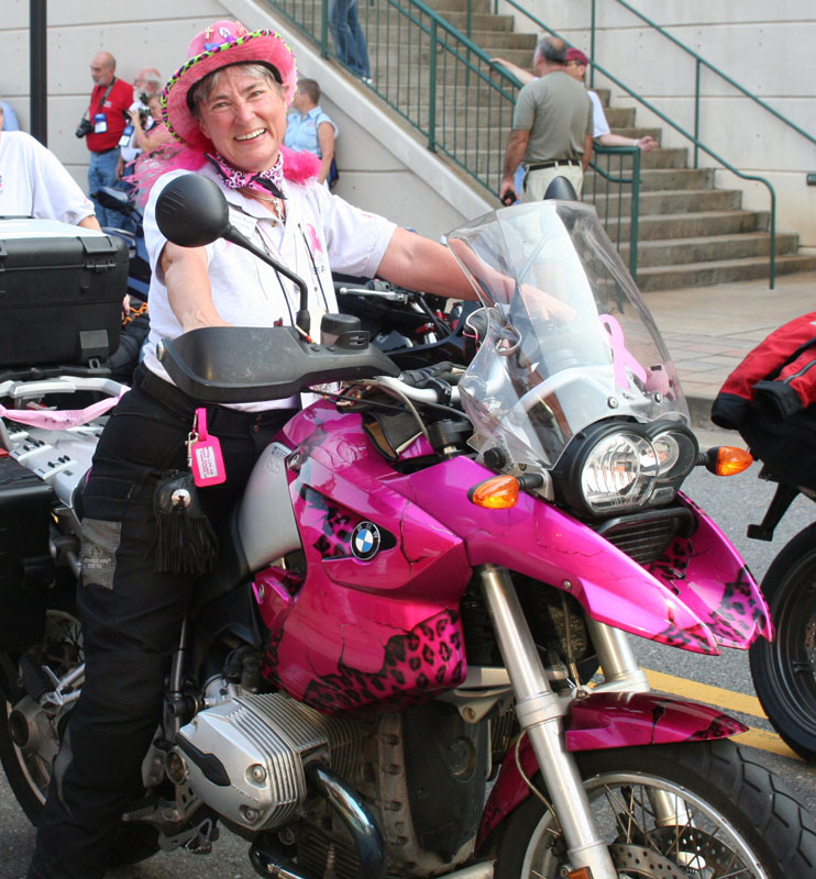 Pink Motorcycles BMW R 1200 GS