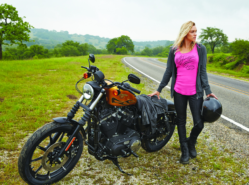 Harley-Davidson Adds New Items to Pink Label Collection Woman Rider