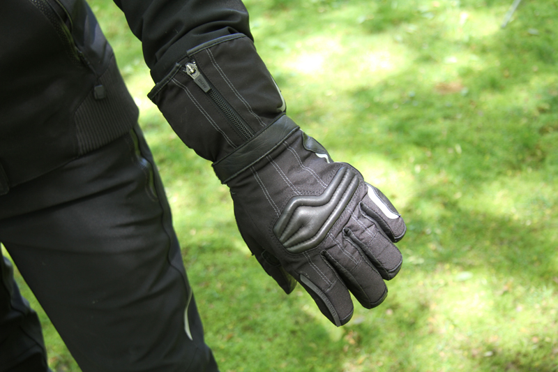 review gloves for warm and cold motorcycle riding ProWinter BMW