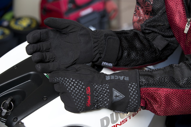 Cool Weather Motorcycle Gloves Textile