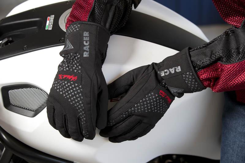 Cool Weather Motorcycle Gloves Styling